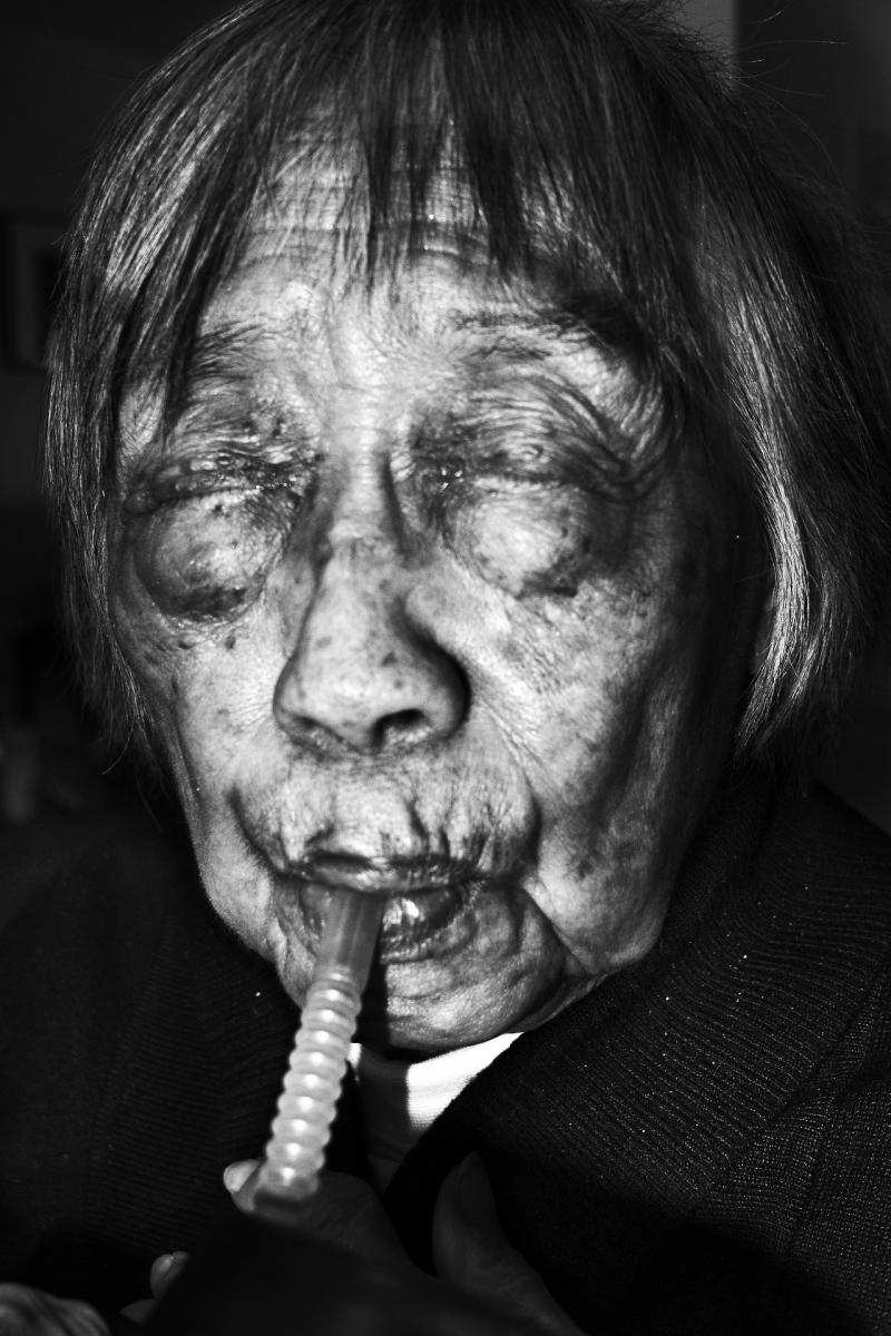 102 year old woman. Milwaukee, Wisconsin.