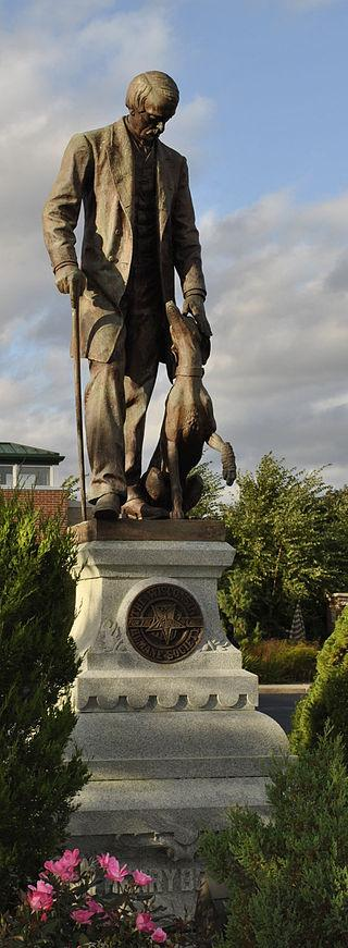Restored in 2000, the Henry Bergh statue is located at the Wisconsin Humane Society in Milwaukee.