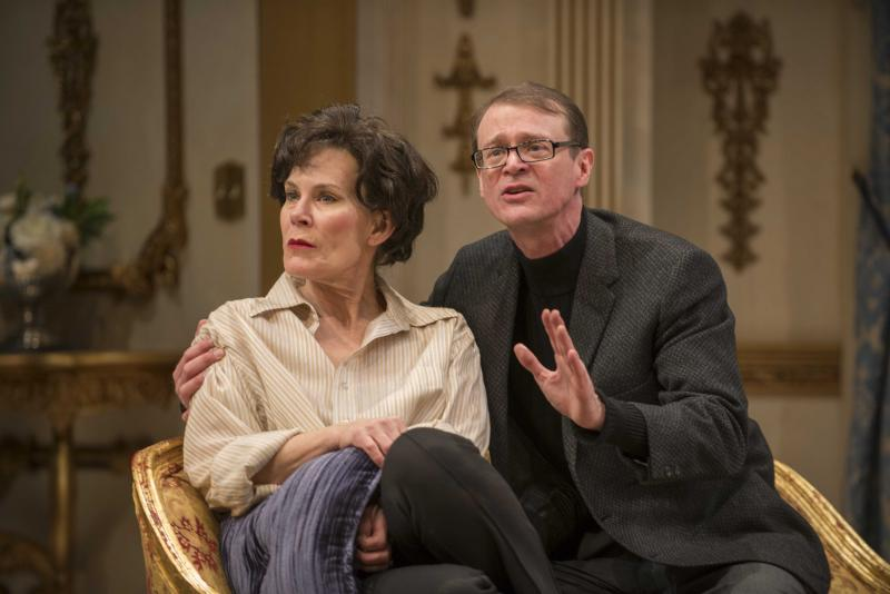 Hollis Resnik and Thomas J. Cox in Milwaukee Repertory Theater's 2013/14 Quadracci Powerhouse production of End of the Rainbow.