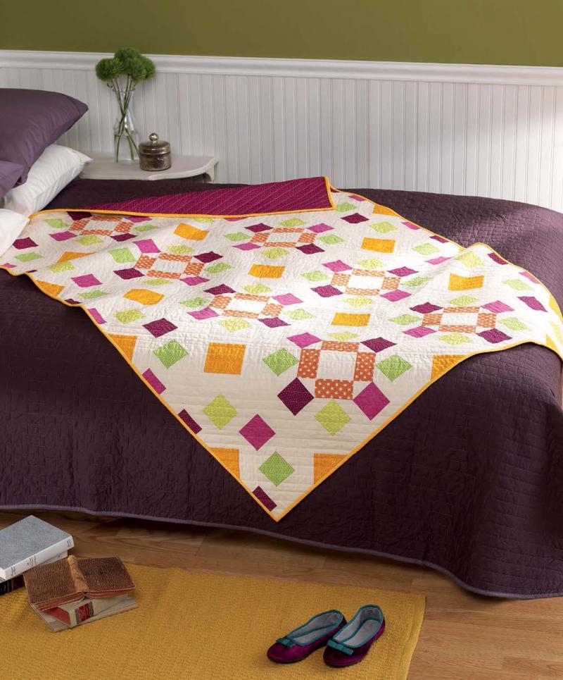 Dancing Squares quilt