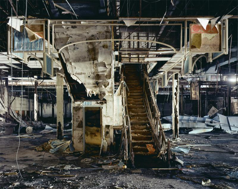 JC Penny, Dixie Square Mall, 2009. Brian Ulrich (American, b. 1971). Chromogenic process color print; 121.9 x 152.4 in. Courtesy the artist and Julie Saul Gallery