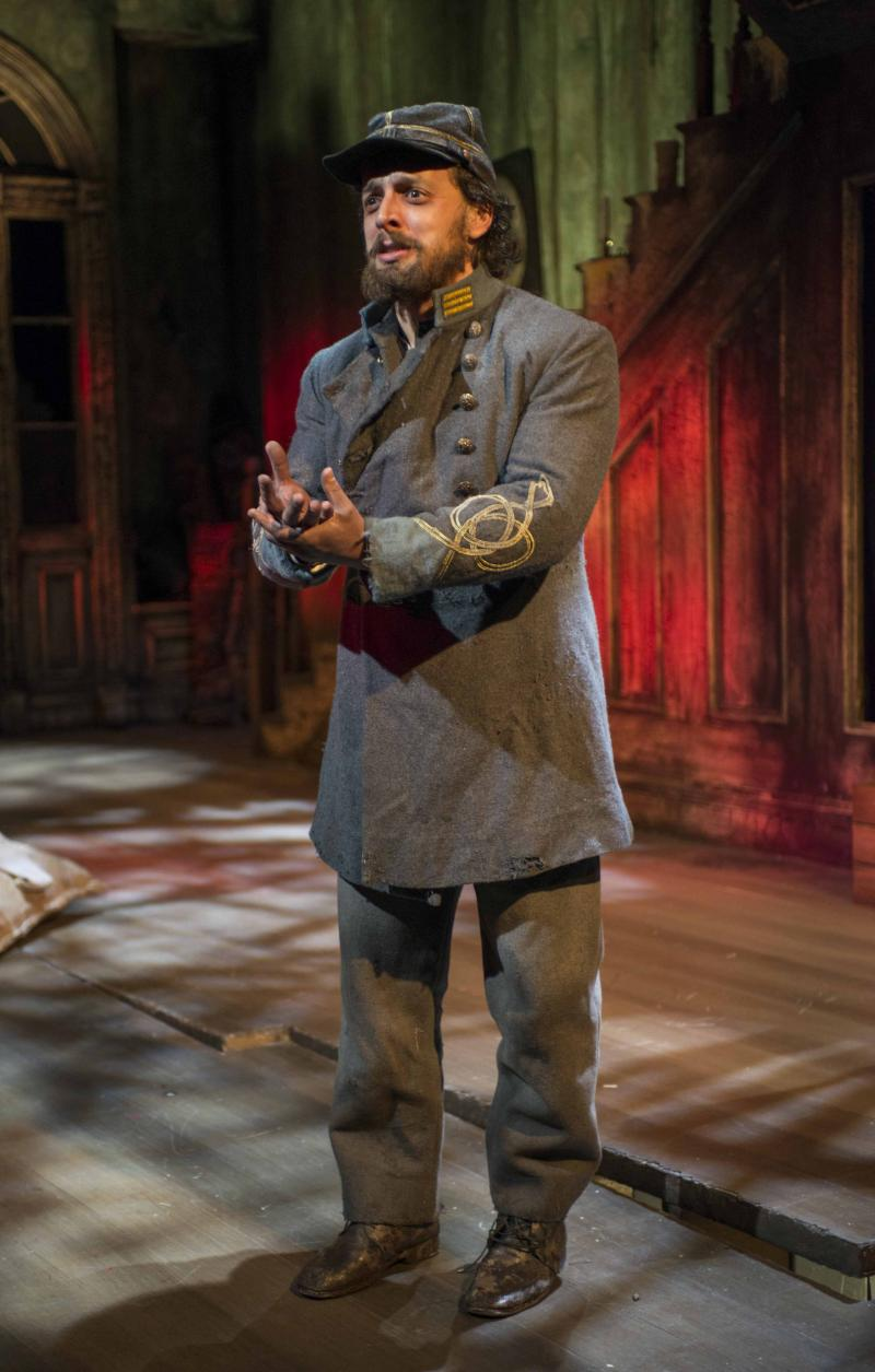 Josh Landay in Milwaukee Repertory Theater's 2013/14 Stiemke Studio production of The Whipping Man.