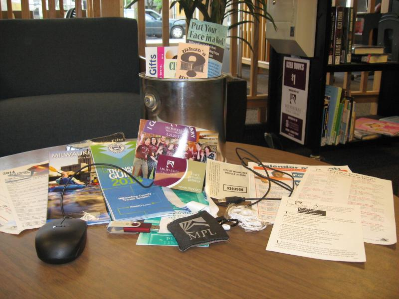 The items that are in the East Library time capsule.