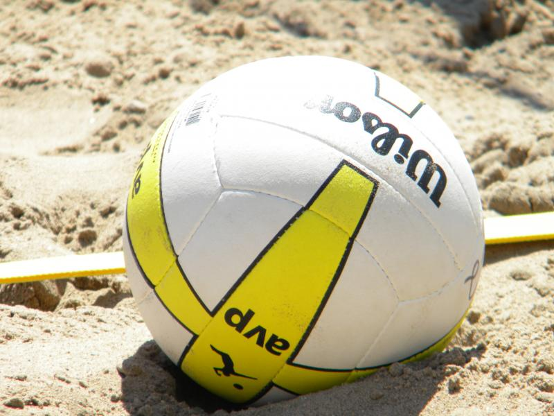 All are welcome to Bradford Beach this weekend for the AVP beach volleyball tournament