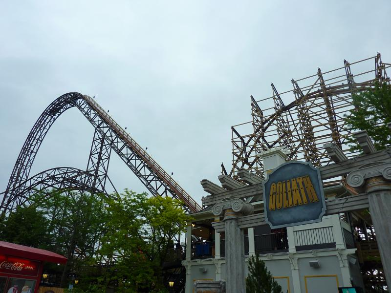 Six Flags Great American's latest attraction takes the theme park back to it roots with a new wooden roller coaster.