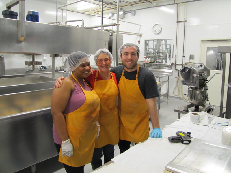 Mighty fine pimento cheese makers at Clock Shadow Creamery.