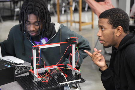 Bradley Tech has been involved with PRIME (Partnership Response In Manufacturing Education), a community-based approach to manufacturing education to address the shortage of manufacturing and technical talent.