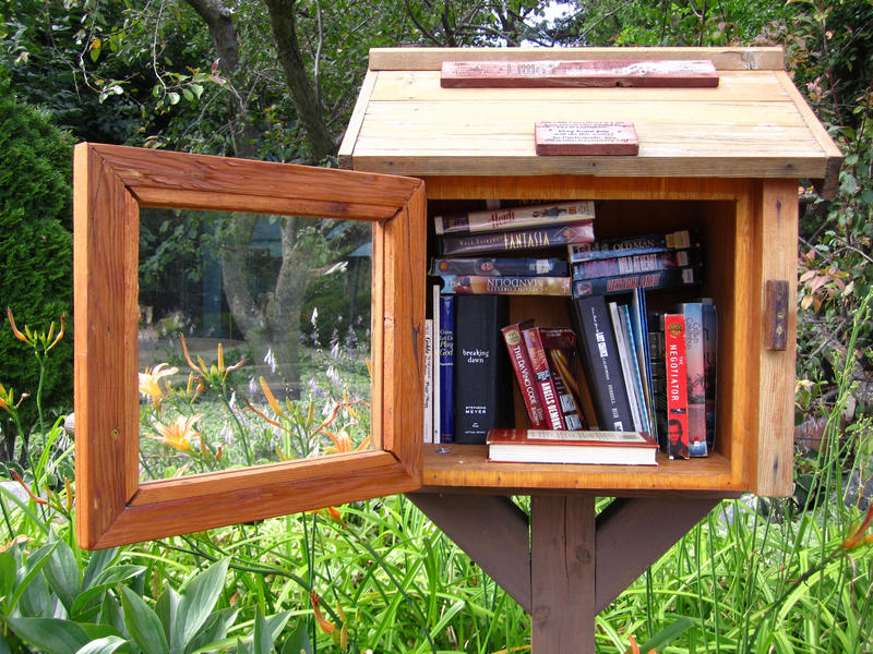 A Little Free Library in Madison.