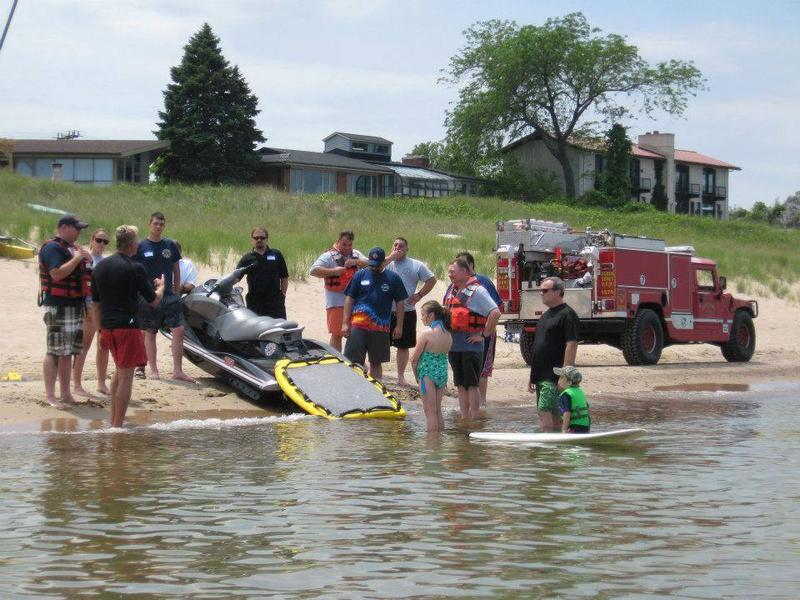 GLSRP also trains first responders in executing a proper water resuce.