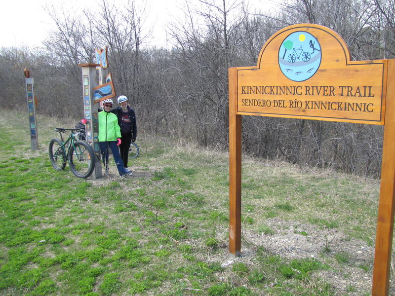 The Kinnickinnic River Trail is part of the KK's revitalization and, Briscoe and Vavrusa say, another great biking/hiking opportunity.