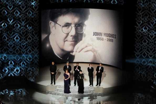 Actors who starred in John Hughes' most noteable films on stage together at the 82nd Annual Academy Awards Show to celebrate his work.