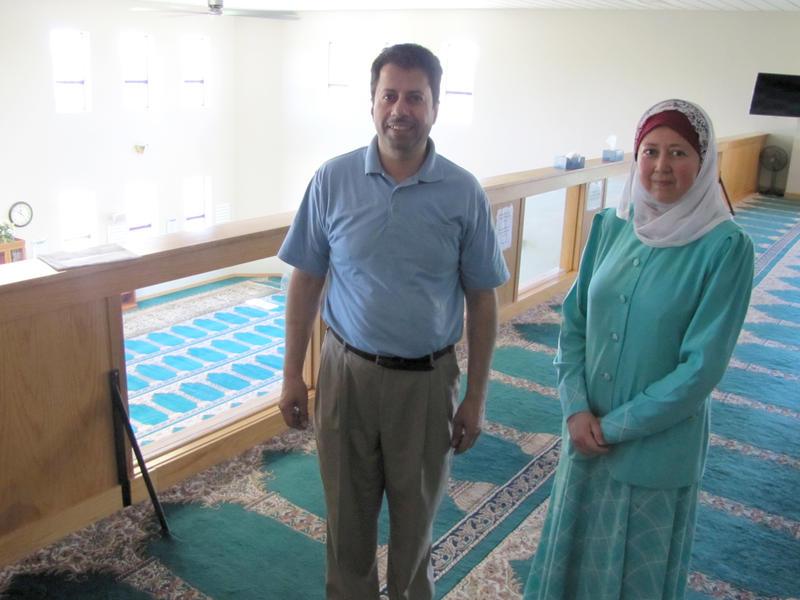 Nabil Salous and Huda Alkaff