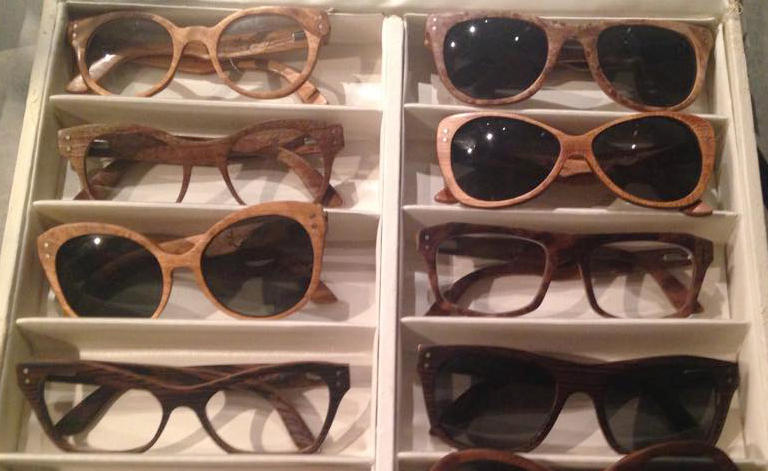 selection of products from proper eyewear