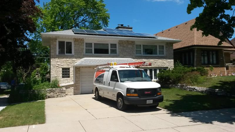 As homeowners continue to sign on, Solar East installations have already begun this summer.
