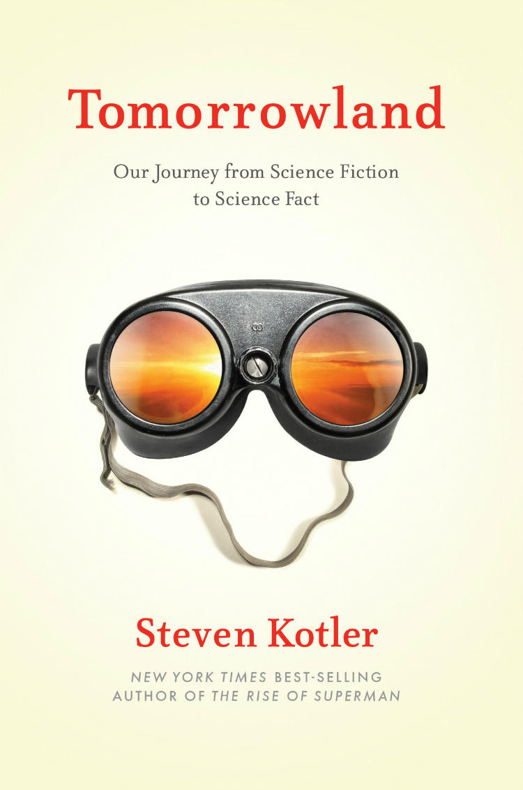 Konnikova Open Office On Steven Kotlers Latest Work Tomorrowland Chronicles His Research Of Technologies From Decades Past Science Fiction The Past Becomes Technology Present Wuwm