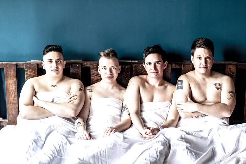 """""""BROTHERS"""" follows four trans masculine friends living in Brooklyn, NY."""
