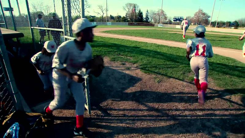 A new movie premiering on MPTV showcases two leauges out of Milwaukee's north and south sides helping children to learn more than just baseball skills.
