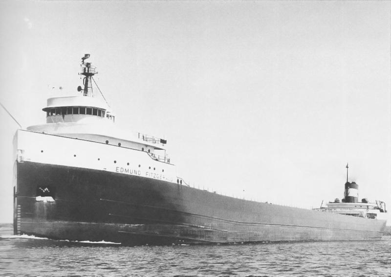 The Edmund Fitzgerald sank on November 10, 1975, killing all 29 crew members.