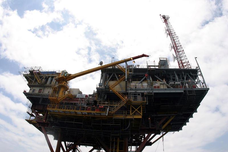 Gulf Coast Oil Rig