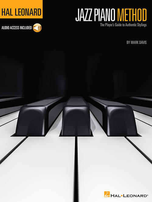 Cover of 'The Hal Leonard Jazz Piano Method: The Player's Guide to Authentic Stylings.'
