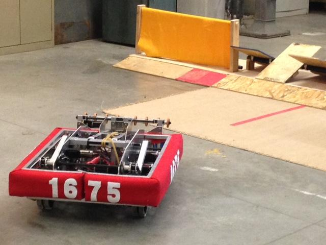 MPS' FIRST Robotics team will compete in a regional competition this spring. Student team members say they like the process of creating their robot from scratch.