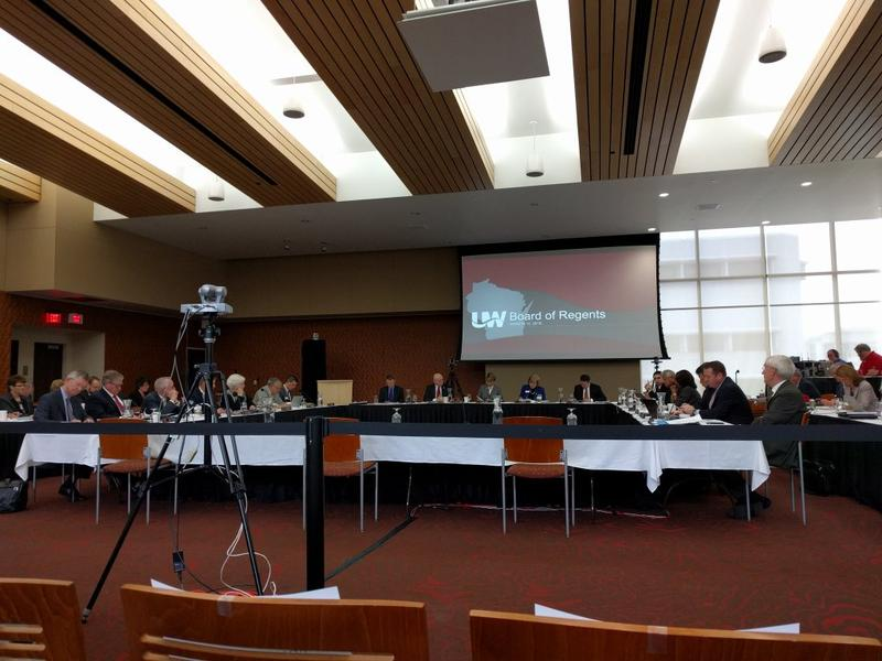 The UW Board of Regents approved changes to tenure protections at their meeting Thursday.