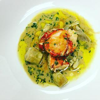 Milwaukee Chef Paul Bartalotta's lobster and artichoke fricassee