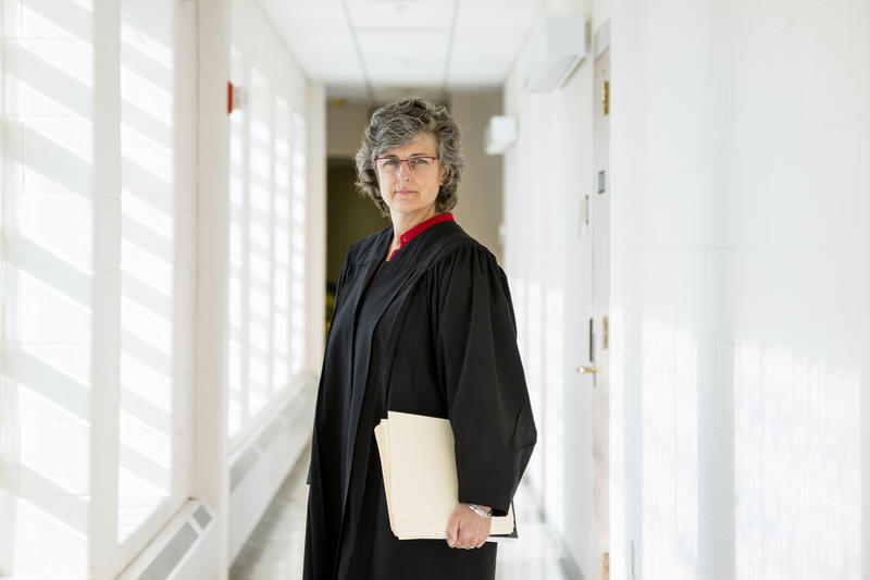 Sara Stathas Milwaukee County Circuit Judge Mary Triggiano uses a trauma-informed approach when working with adult defendants and juvenile offenders.