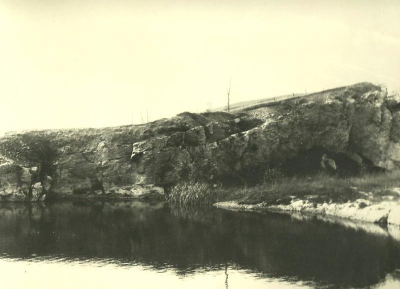 1899 photograph of Schoonmaker Reef