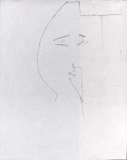 Pablo Picasso (Spanish, 1881 - 1973) Head of a Woman (Tête de femme) 1961 Graphite 10 5/8 x 8 1/4 in. Terese and Alvin S. Lane Collection 2012.54.47.3