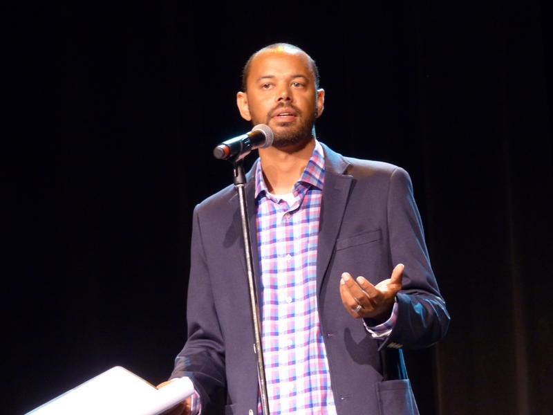 Khary Penebaker shares the story of his mother's suicide and of being a gun violence survivor.