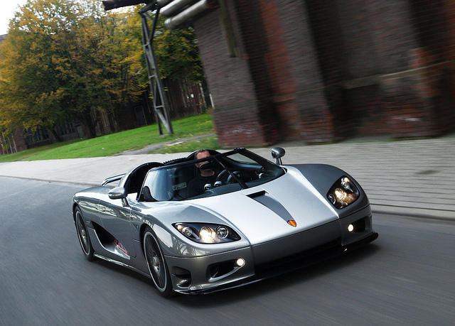 Koenigsegg CCR 817HP Bicolour Foiljob Painted Rims CCXR Frontbumber Modified Interior