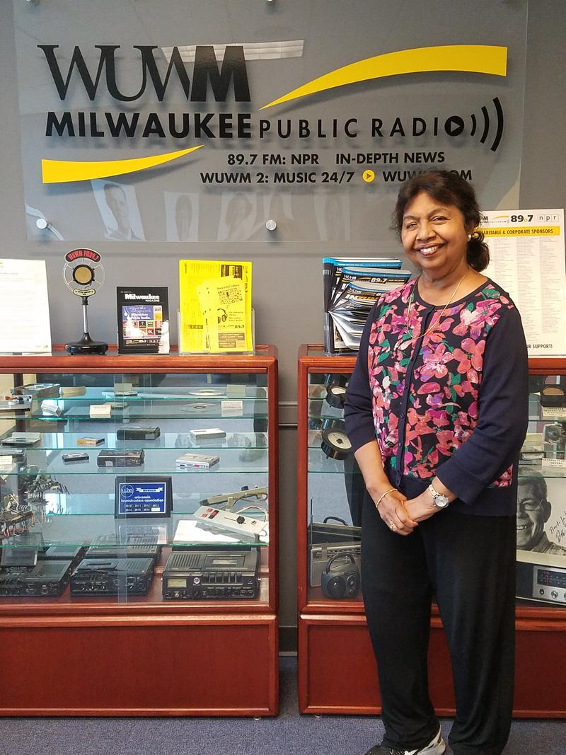 Alamelu Vaivaran at WUWM Radio