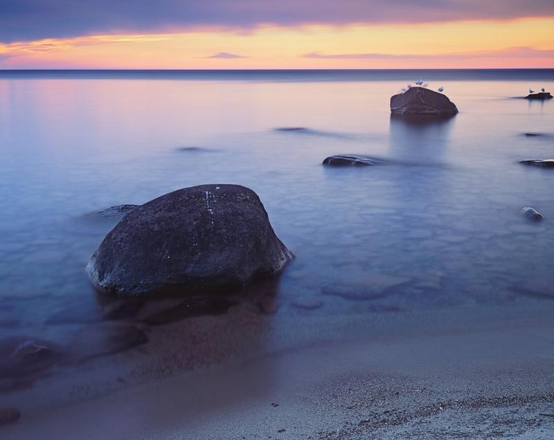 Lake Superior Sunset #2 -  Porcupine Mountains State Park, Michigan