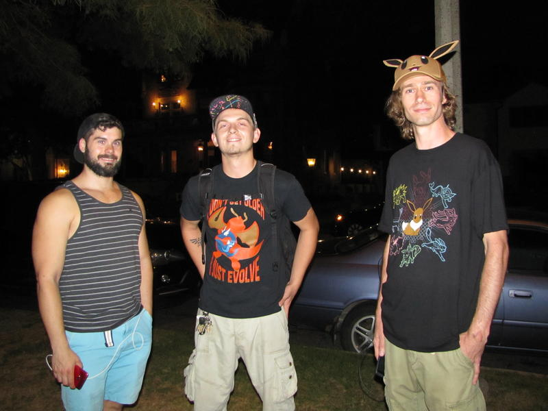 Avid players Brian Hauerwas, Drayden Jay and Erich Lane have gotten to know one another this summer in Lake Park.