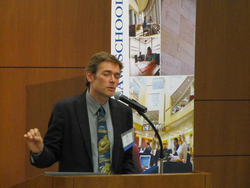 Marc Edwards spoke at the  Marquette University Law School Public Policy and American drinking Water conference this week.