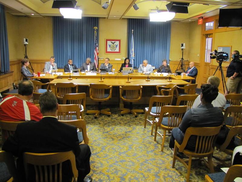 The task force spent much of Friday morning discussing everything from filtration systems to additives used to treat Milwaukee water.