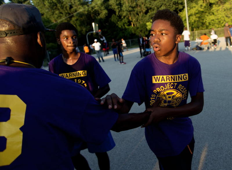 13-year-old Kyhli Maxey is learning how to cope with the loss of his good friend Giovonnie Cameron - on the court.