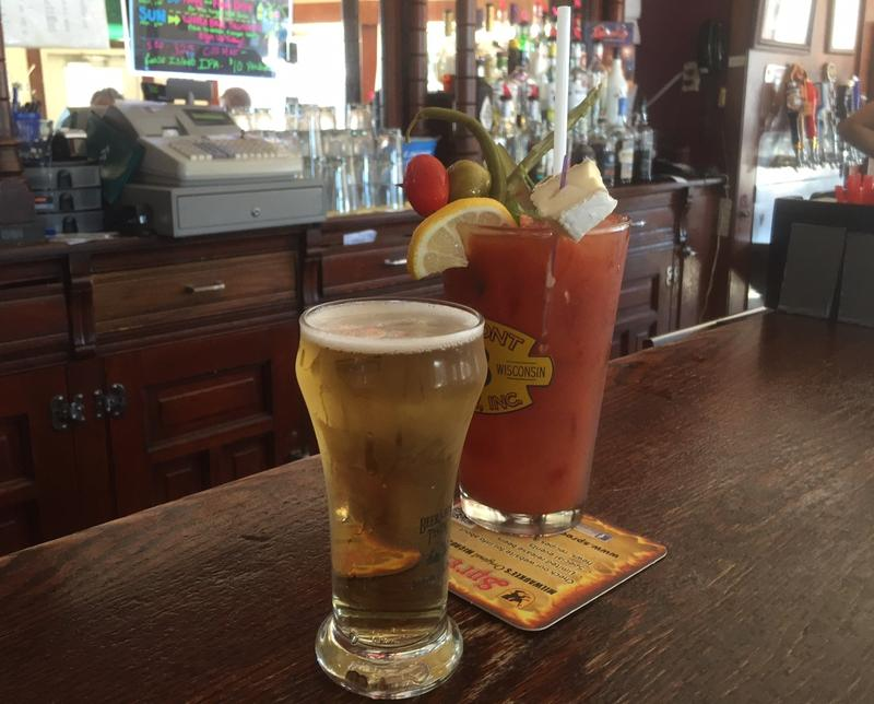 "If you order a Bloody Mary in Wisconsin, you'll probably also get a beer -- for free -- to ""chase"" the drink. Chasers aren't always as large as those served at the White House in Milwaukee's Bay View neighborhood."