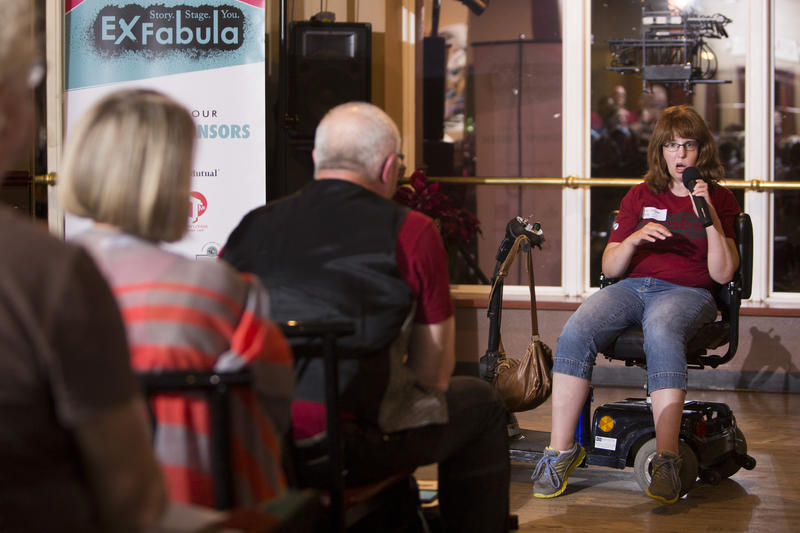 Storyteller Jill Potkay