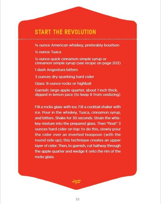 """Star the Revolution"" cocktail"
