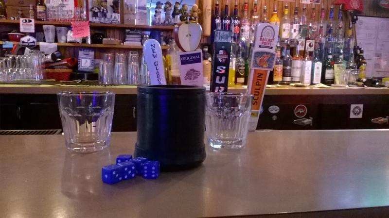 Bar Dice is a popular drinking game played across Wisconsin