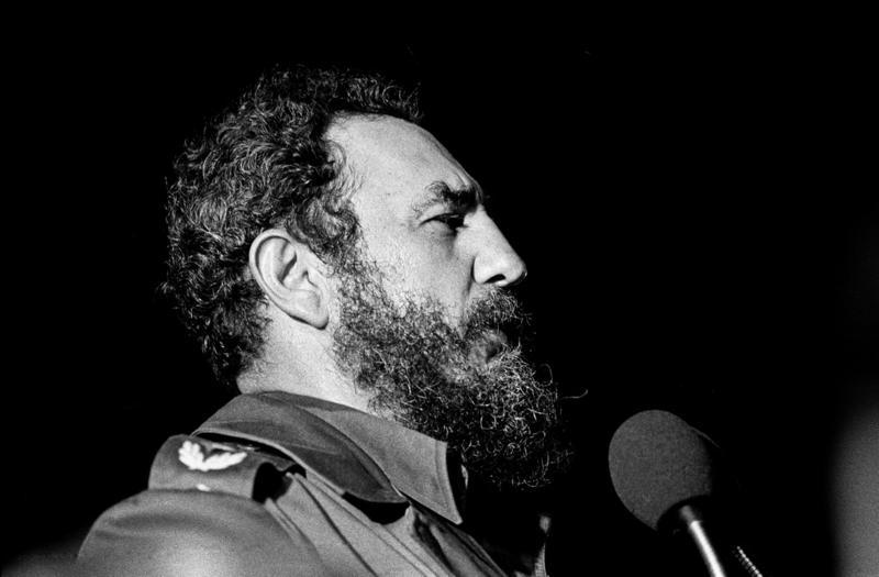 Fidel Castro, Havana, 1978.
