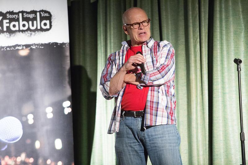 Storyteller Bill Stevens
