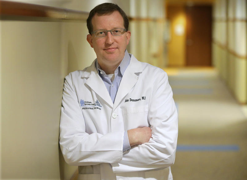 Doctor John Densmore is a lead pediatric surgeon at Children's Hospital of Wisconsin.