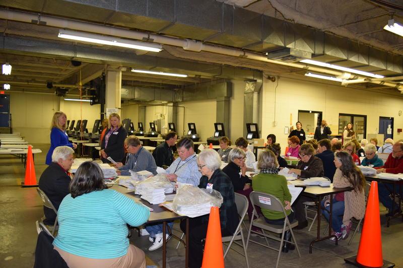 Milwaukee County's recount is underway.