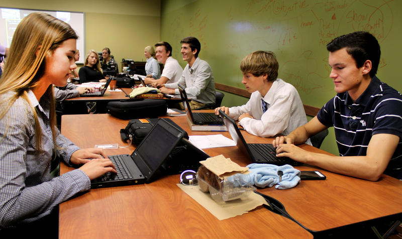 "Pewaukee High School students get hands-on business and entrepreneurship training as part of the ""Insight"" program."