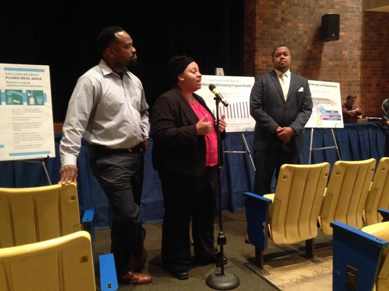 Alderpersons Stamper, Coggs & Rainey were among council members who held public listening sessions before the council vote.