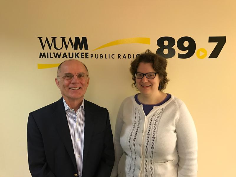 Tom Luljak with Amanda Seligman