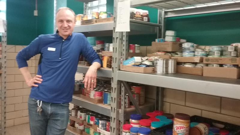 Vincent Noth heads the Riverwest Food Pantry